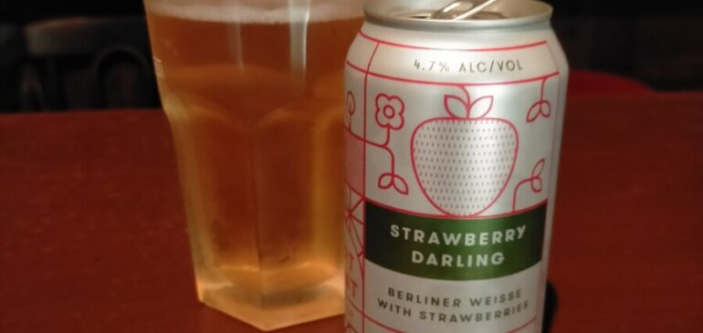 Fort Point Strawberry Darling Berliner Weisse